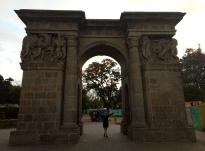 Arch in Quito