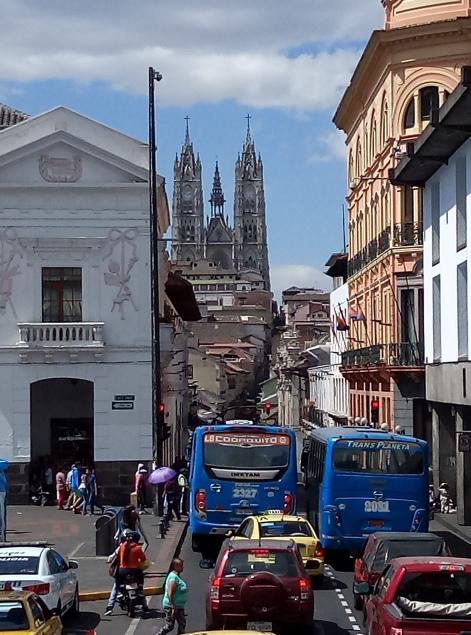 Church in Quito