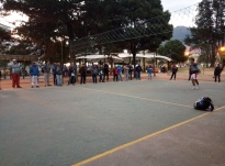 Cocos being played in Quito